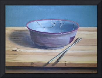 The Chinese Bowl 2 (2007) Oil on Board