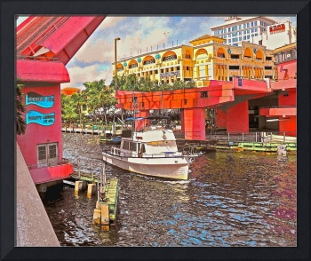 Andrews Ave Bridge, Ft. Lauderdale, Florida