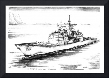 Ticonderoga Class Cruiser CG60 USS Normandy