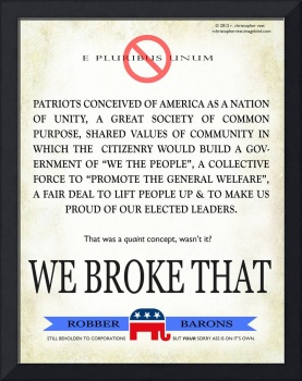 republican party: we broke that