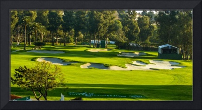 Riviera Country Club Golf Course Hole 10 Photo