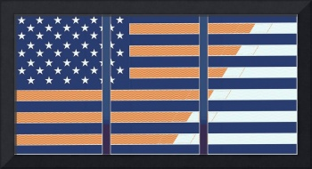 artistic usa flag 3