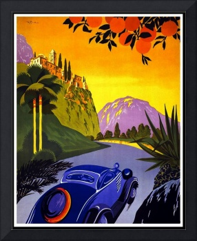 Greece Vintage Travel Poster 2