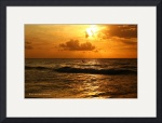 Golden Sunrise: Carolina Beach NC by Wayne Moran