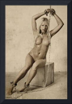 Photograph Bdsm Style Nude Woman