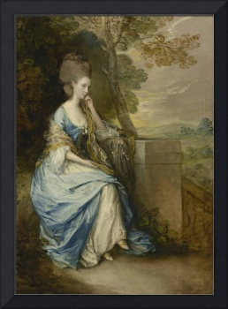 Thomas Gainsborough~Portrait of Anne, Countess of