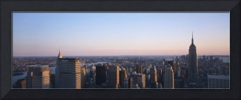 Panoramic View Of Manhattan New York City, New Yo