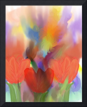 Tulips Watercolour