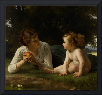 Temptation, 1880 (oil on canvas)