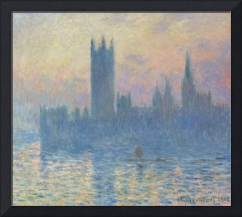 Houses of Parliament, Sunset by Monet