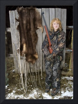 Maddy, a 15 year old hunter