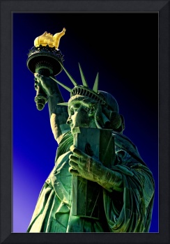 'the Majestic Statue of Liberty