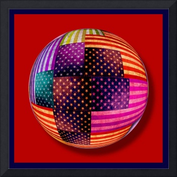 American Flags Orb