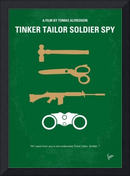 No787 My Tinker Tailor Soldier Spy minimal movie p