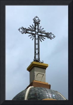 Cross on Church in Atuntaqui