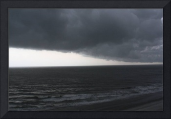 Foreboding Clouds Over Sea 3