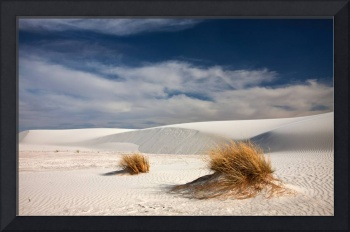 The Dunes of White Sands
