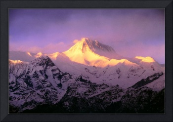 Annapurna South At Sunrise, Nepal