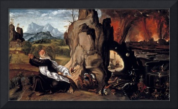 Torment of St. Anthony, 1515-20 (oil on panel)