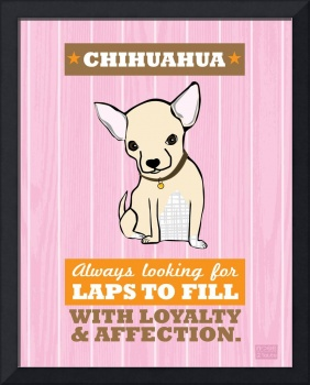 Chihuahua3 Pink/Orange