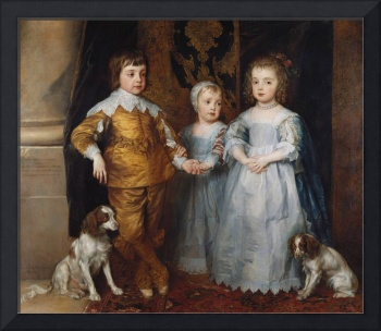 The three eldest children of Charles I