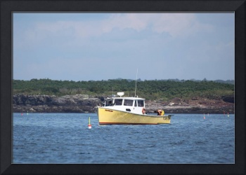 Yellow Lobster Boat IMG_4933