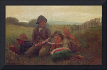 The Watermelon Boys, 1876 by Winslow Homer