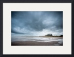 Bamburgh Castle and Beach by Dave Wilson