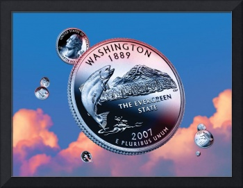 Washington State Quarter - Sky Coin 42