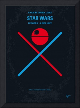 No154 My STAR WARS Episode IV A New Hope minimal m
