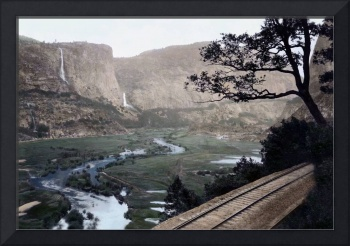 Hetch Hetchy Valley Overview, Yosemite Park c1910