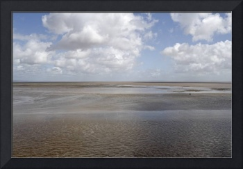 Severn Estuary at low tide