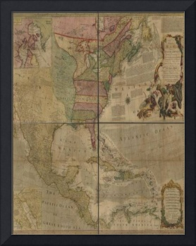 Histrorical North American Map