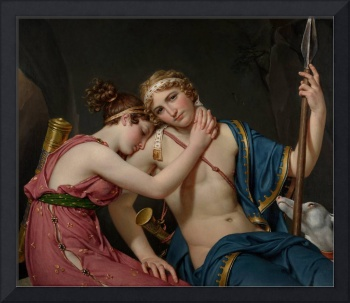 Jacques-Louis David~The Farewell of Telemachus and