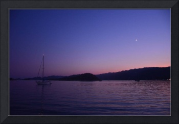 Anchored Under A Crescent Moon