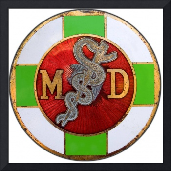 Physician Antique MD Insignia