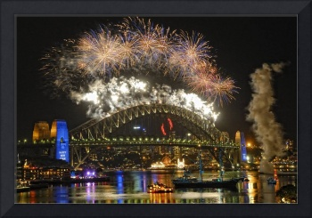 Sydney New Years Eve 2009- 2010 Fireworks