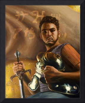 Young Captain Moroni