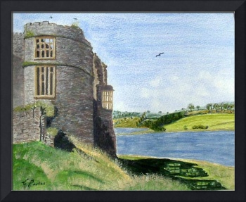Carew Castle, Pembrokeshire.