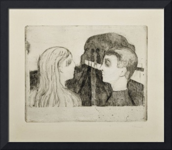 Munch, Edvard (1863-1944) Attraction II (1895)