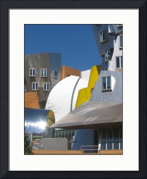 Frank Gehry MIT Building Shapes