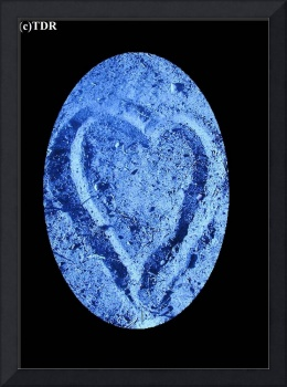 dirty blue heart