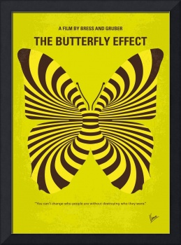 No697 My The Butterfly Effect minimal movie poster