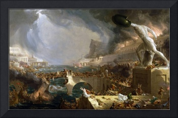 THOMAS COLE, THE COURSE OF EMPIRE - DESTRUCTION