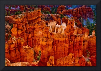 Colorful Hoodoos - Bryce Canyon - Utah