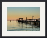 Fishing Pier, Fulton, Texas II by Dave Wilson