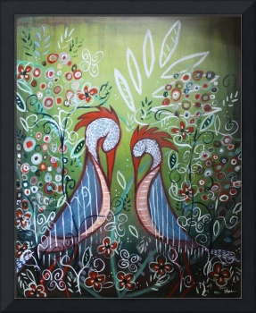 Enchanted Garden : Birds in Paradise