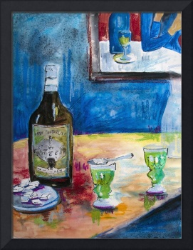 Homage to Picasso Absinthe For Two