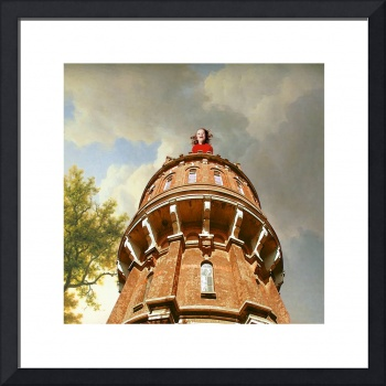 Maritgen Art - Girl in the Tower