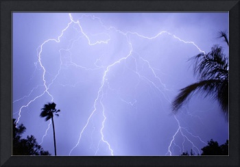 Tropical Monsoon Lightning